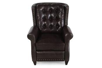 Bernhardt Leather Pierce Recliner