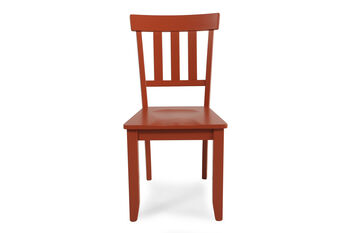 Ashley Bantilly Pair of Red Side Chairs