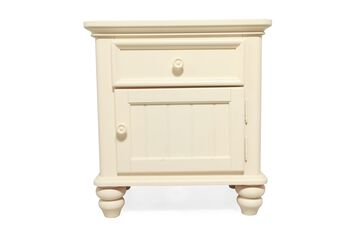 Legacy Summer Breeze Cottage White Nightstand