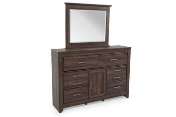 Ashley Juararo Dresser and Mirror