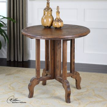 Uttermost Imber Round Accent Table