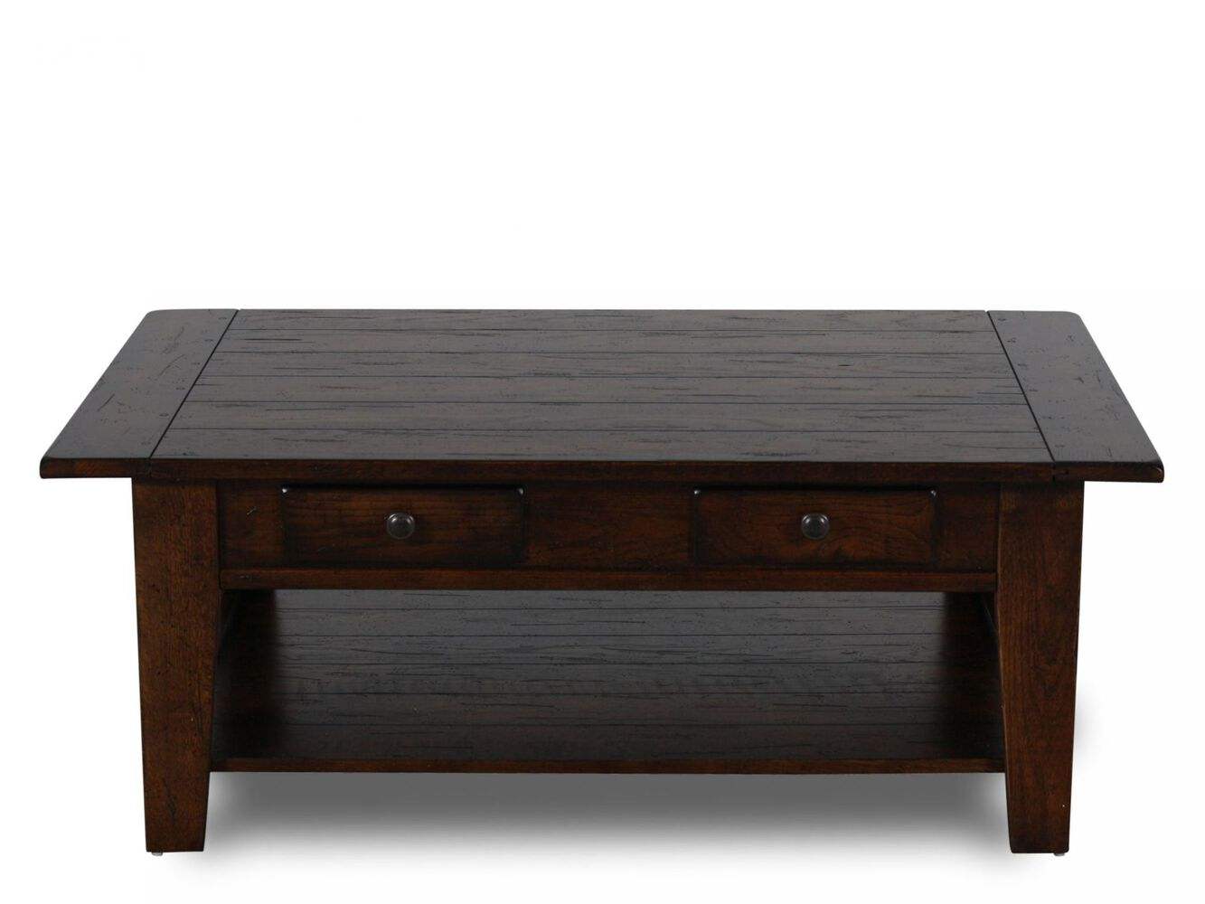 Broyhill Attic Heirlooms Rustic Cocktail Table - Broyhill Attic Heirlooms Rustic Cocktail Table Mathis Brothers