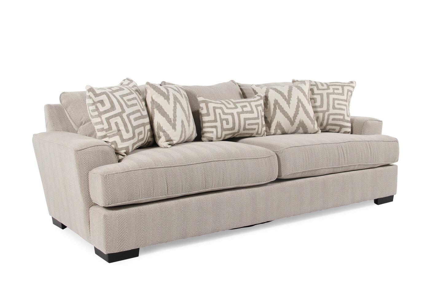 Michael nicholas renegade sofa mathis brothers furniture for Michael apartment sofa