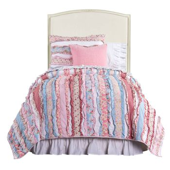 Stone & Leigh Clementine Court Frosting Upholstered Headboard