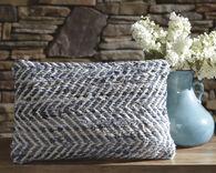 Ashley Argos Blue and White Pillow