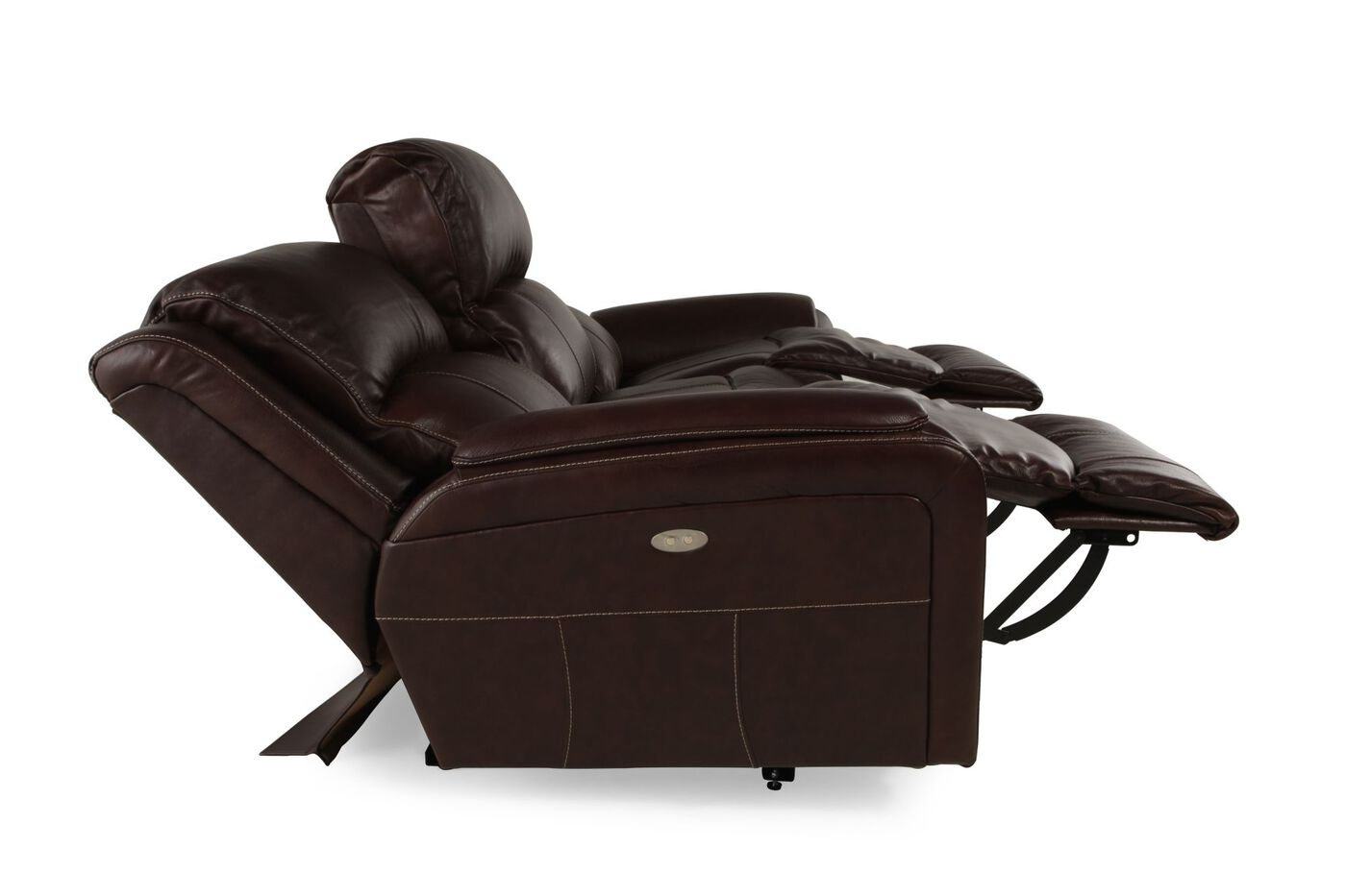 la z boy barrett cocoa power reclining sofa mathis brothers