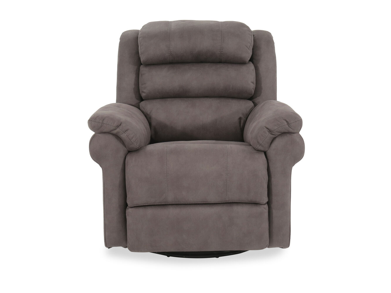 boulevard gray power swivel glider recliner mathis brothers furniture. Black Bedroom Furniture Sets. Home Design Ideas
