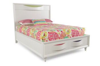 Magnussen Home Crayola Colors Snow White Full Bed