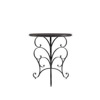Stanley Charleston Regency Charleston Green Ribbon Scroll End Table