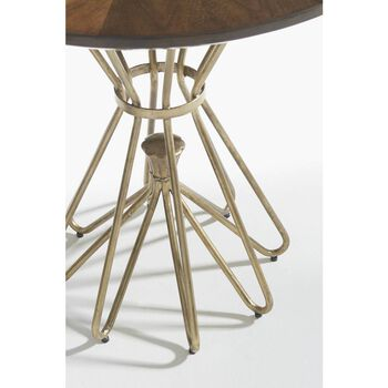 Stanley Crestaire Porter Milo Round Lamp Table