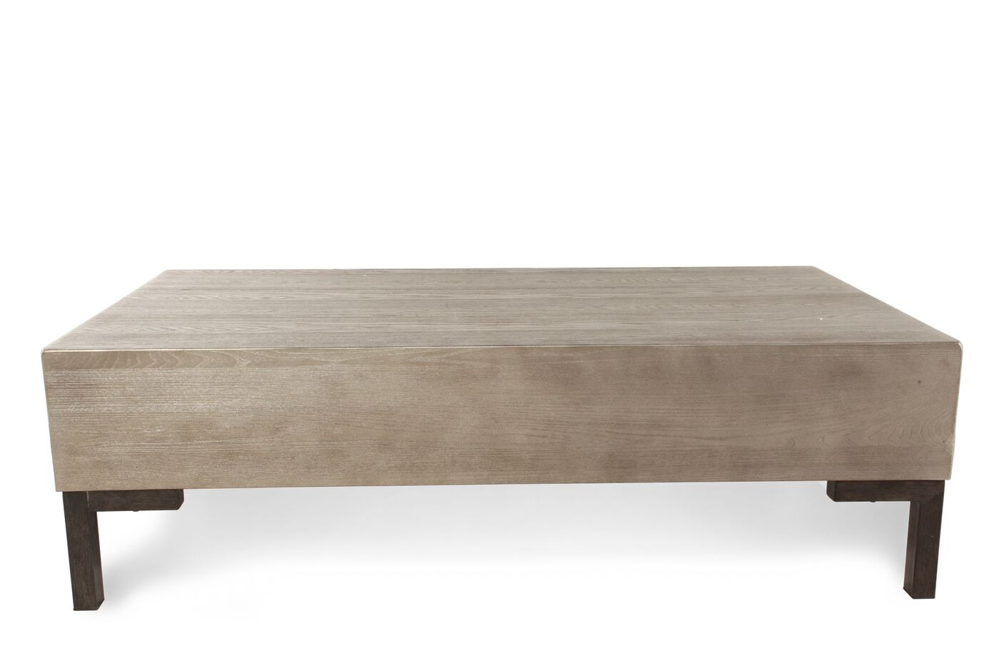 ashley rasmin rectangular cocktail table | mathis brothers furniture
