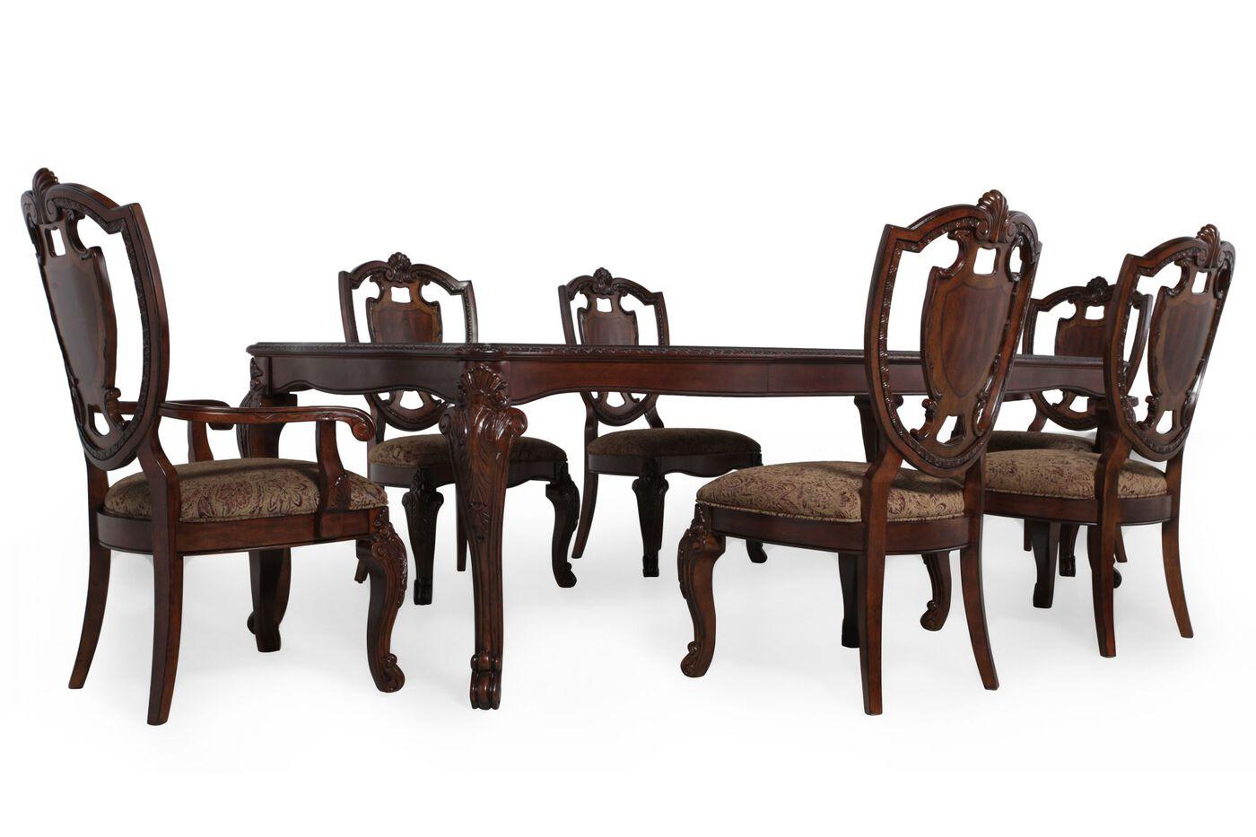 ART Furniture Old World Seven Piece Leg Table Dining  : ARTF 14325E047LEG5E0477PC from www.mathisbrothers.com size 1400 x 933 jpeg 104kB