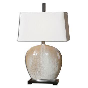 Uttermost Baycliff Beige Ceramic Table Lamp