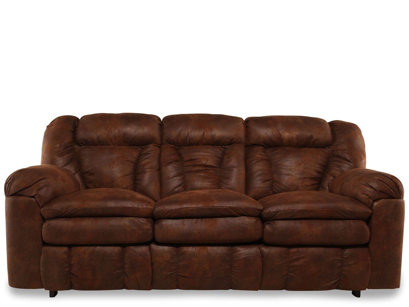 Lane talon coffee sleeper sofa mathis brothers furniture for Lane sectional sleeper sofa