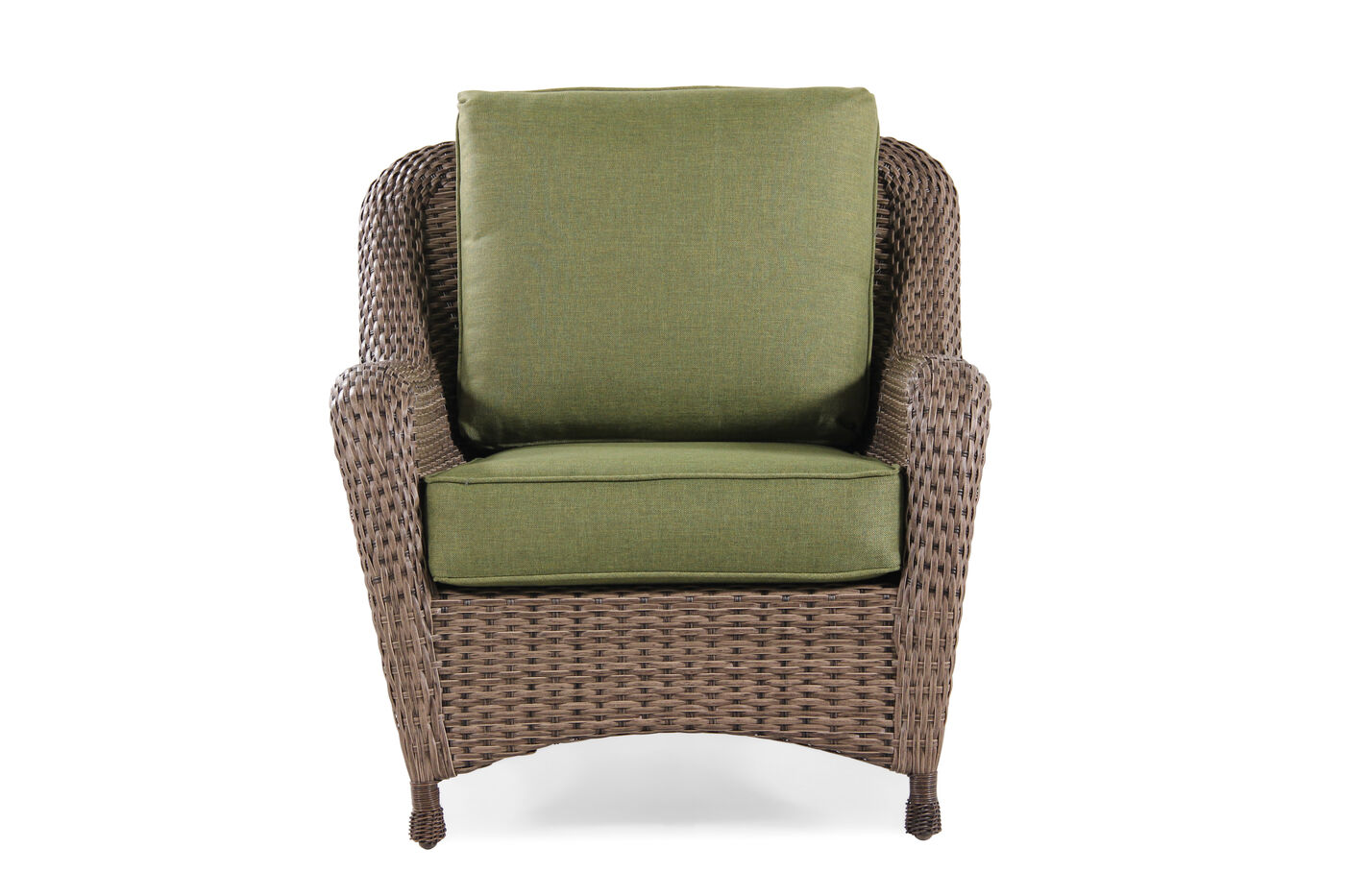 World Source Trinidad Wicker Club Chair