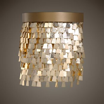 Uttermost Tillie 1 Light Gold Sconce
