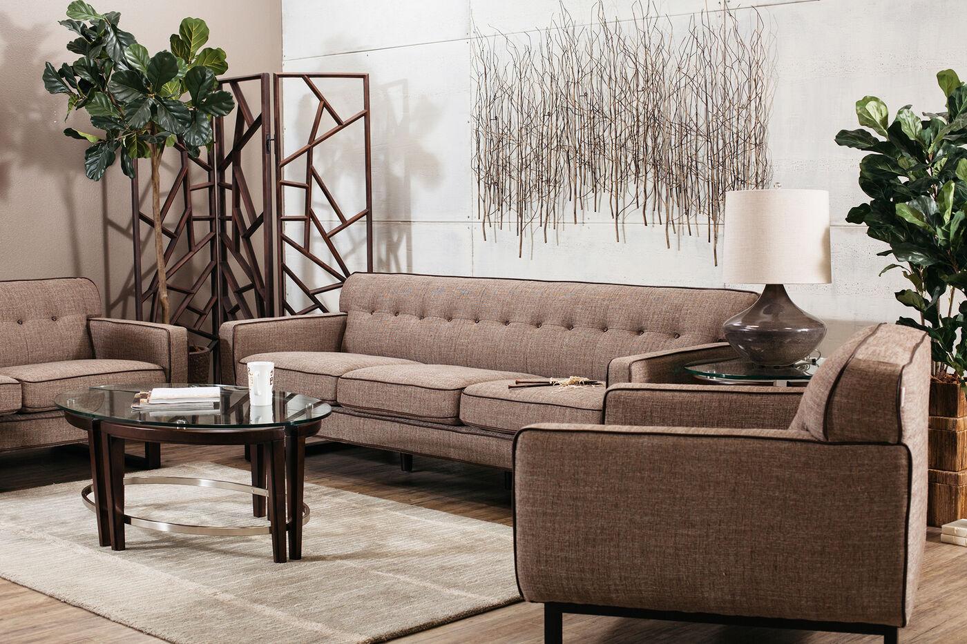 Boulevard Chatham Tweed Sofa Mathis Brothers Furniture