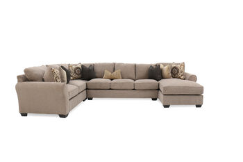Ashley Pantomine Driftwood Four-Piece Sectional