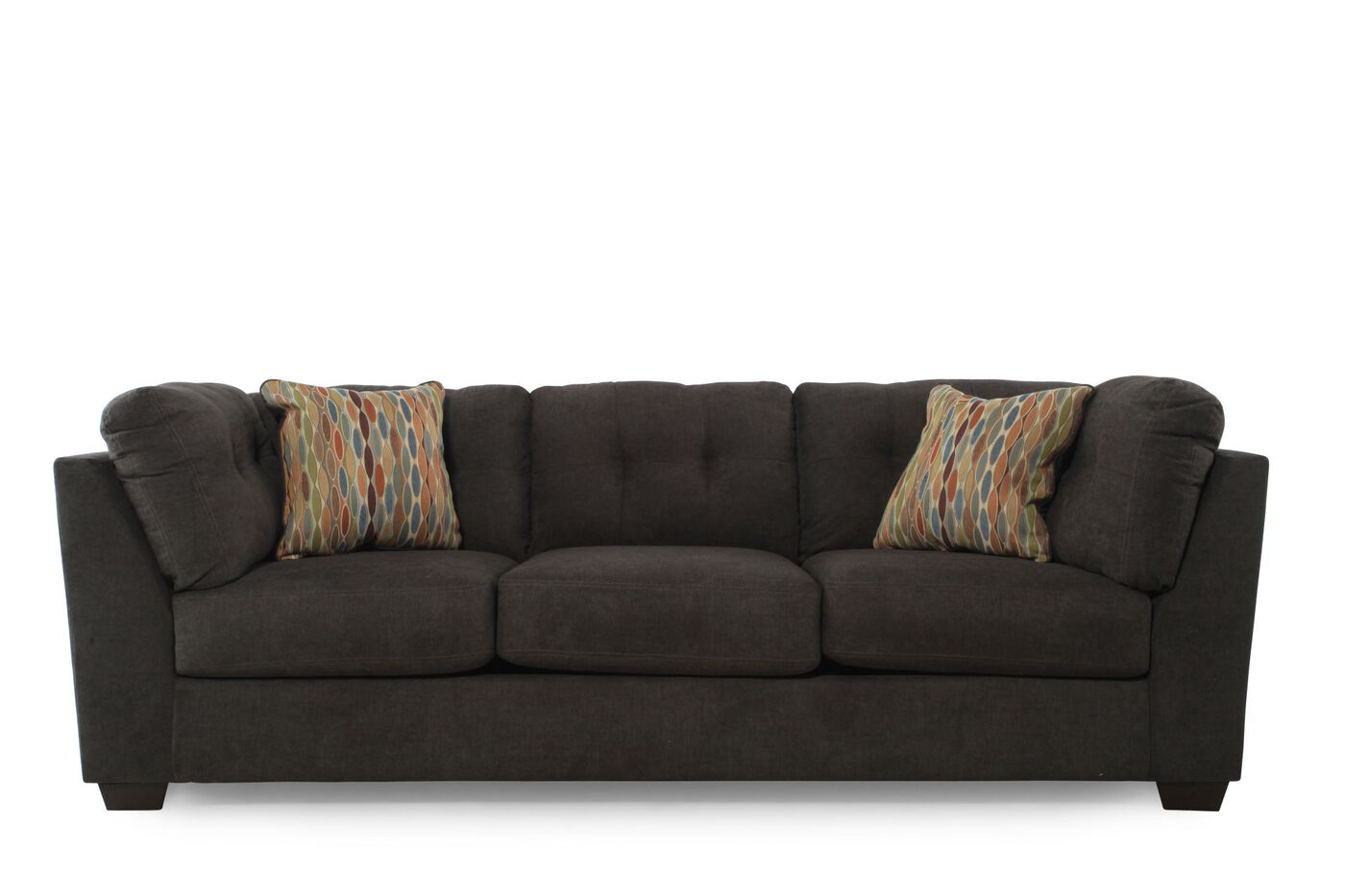 Ashley Delta City Steel Sofa Mathis Brothers Furniture