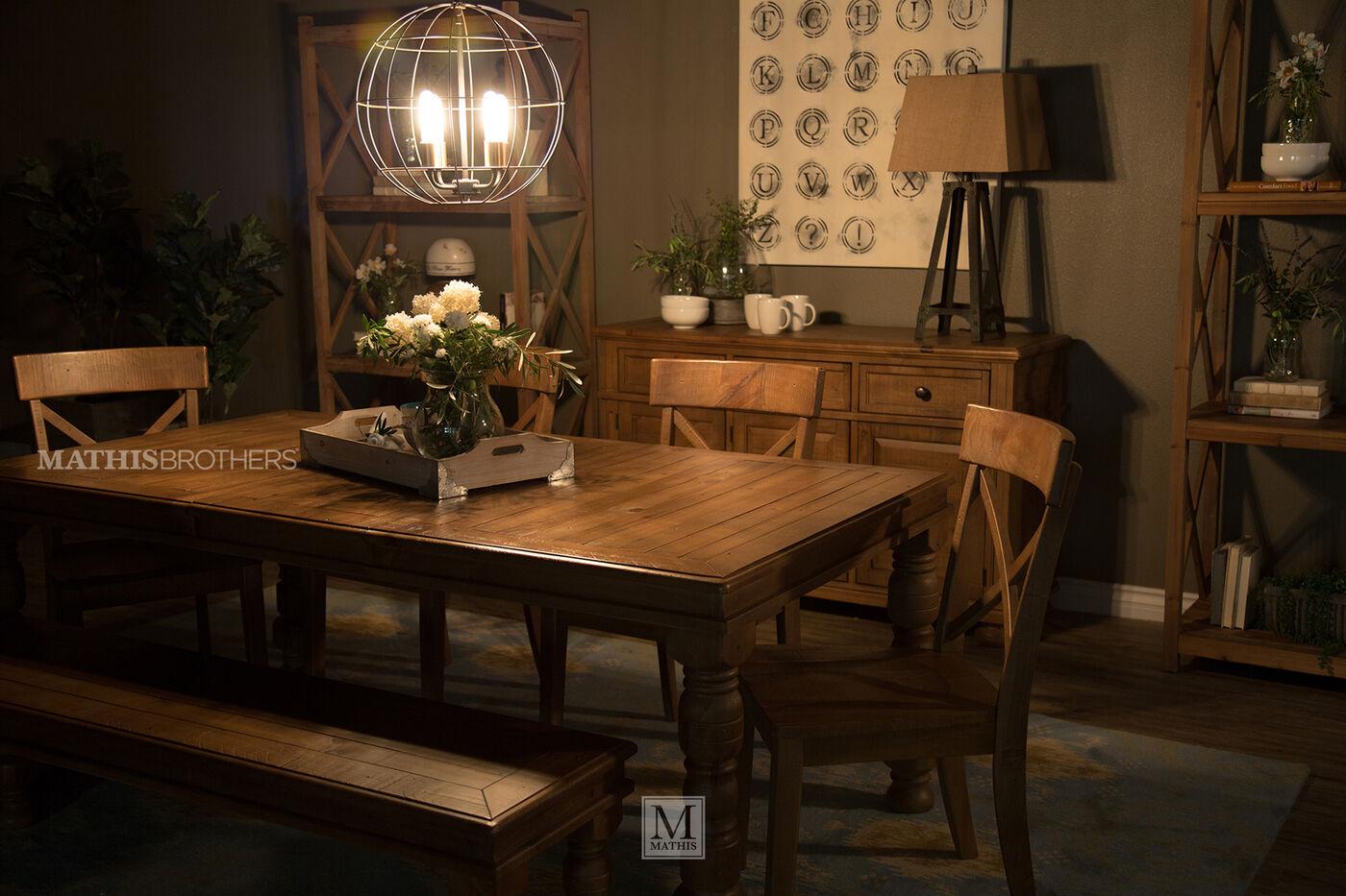 Ashley Trishley Six Piece Dining Set Mathis Brothers Furniture