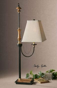 Uttermost Rubiera Metal Buffet Lamp