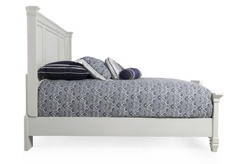 Ashley Prentice White Panel Bed Mathis Brothers Furniture