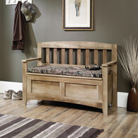 MB Home Morgan Craftsman Oak Storage Bench