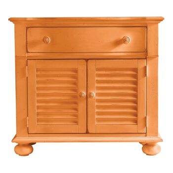 Stanley Coastal Living Retreat Spanish Orange Summerhouse Chest