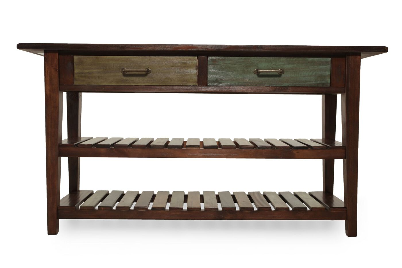 Mestler sofa table from ashley mathis brothers for Sofa table console