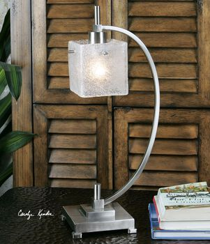 Uttermost Tacoa Curved Metal Task Lamp