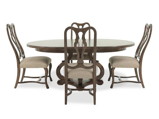 ART Furniture Firenze II Dark Oak Five Piece Round  : ARTF 2592255PC01 from www.mathisbrothers.com size 550 x 413 jpeg 27kB