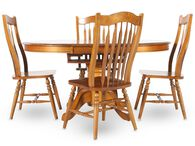 Winners Only Vintage Oak Five-Piece Dining Set