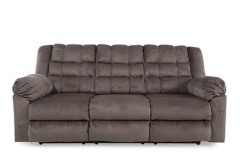 Ashley Mort Charcoal Reclining Sofa