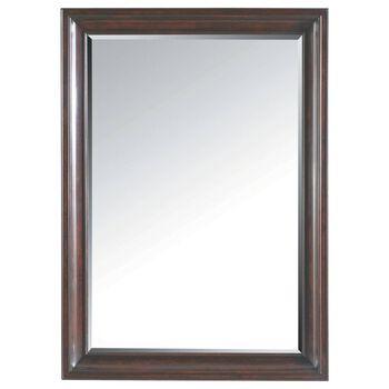 Stanley Transitional Polished Sable Landscape Mirror