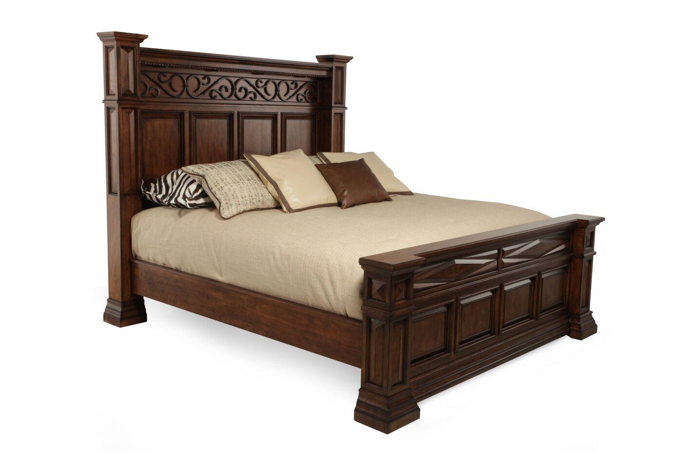 Marbella Bedroom Furniture Art Furniture Marbella Panel Bed Mathis Brothers Furniture