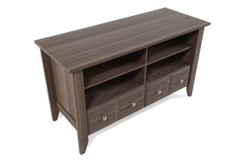 Sauder Diamond Ash TV Stand