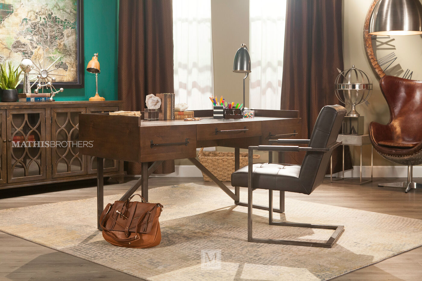Ashley starmore office desk mathis brothers furniture for Starmore ashley furniture bedroom