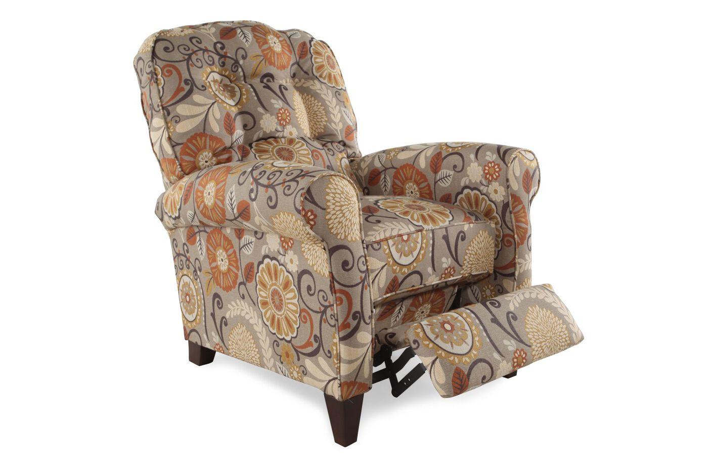 Lane Simone Espresso Recliner Mathis Brothers Furniture