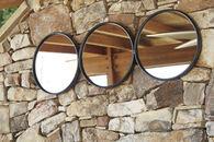 Ashley Ohanko Black Accent Mirror