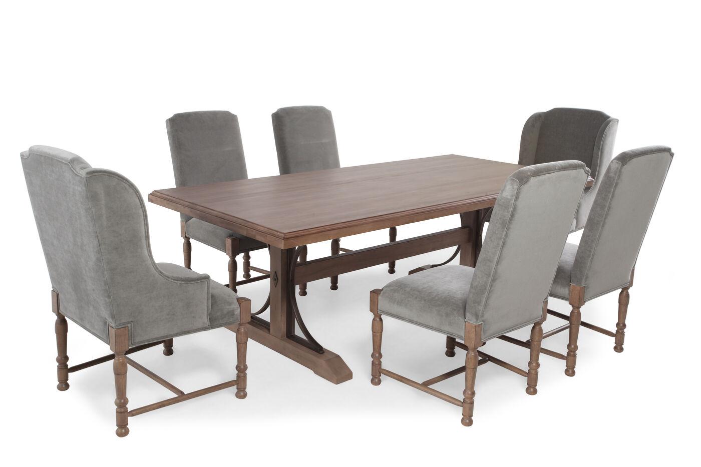 universal authenticity oxford seven piece dining set : seven piece dining set