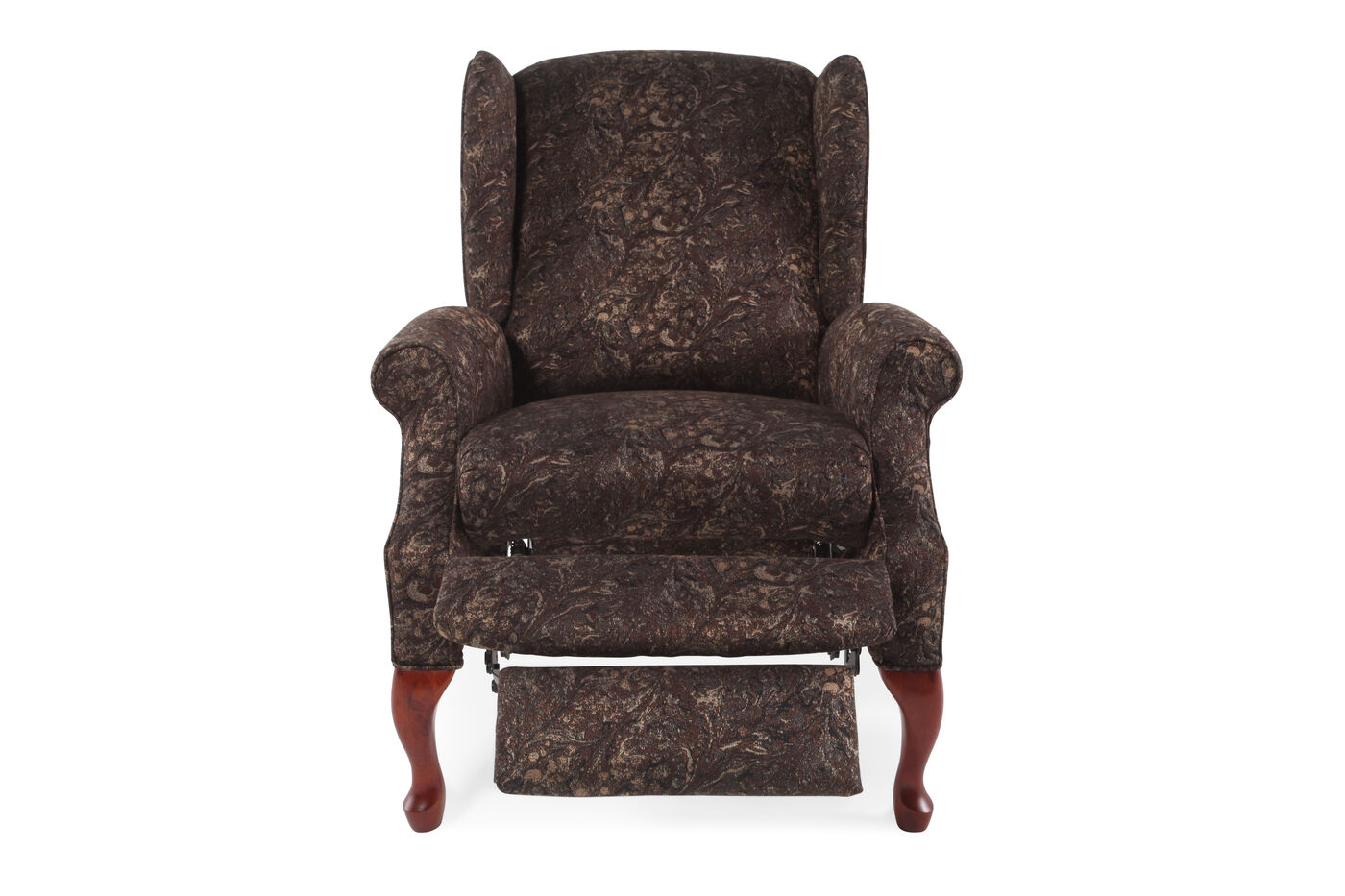Lane hampton jacquard recliner mathis brothers furniture for Furniture 66 long lane liverpool