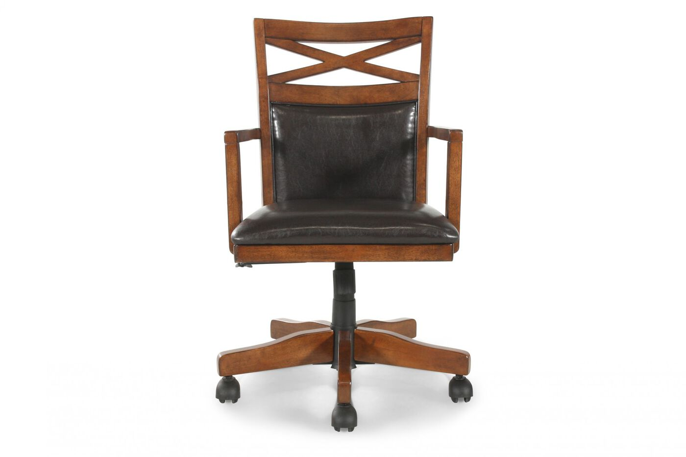 Ashley burkesville office chair mathis brothers furniture - Ashley furniture office desk ...