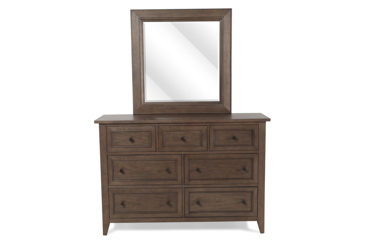 Magnussen Home Talbot Dresser and Mirror Mathis Brothers Furniture