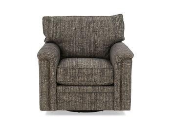 Broyhill Warren Transitions Fabric Swivel Chair