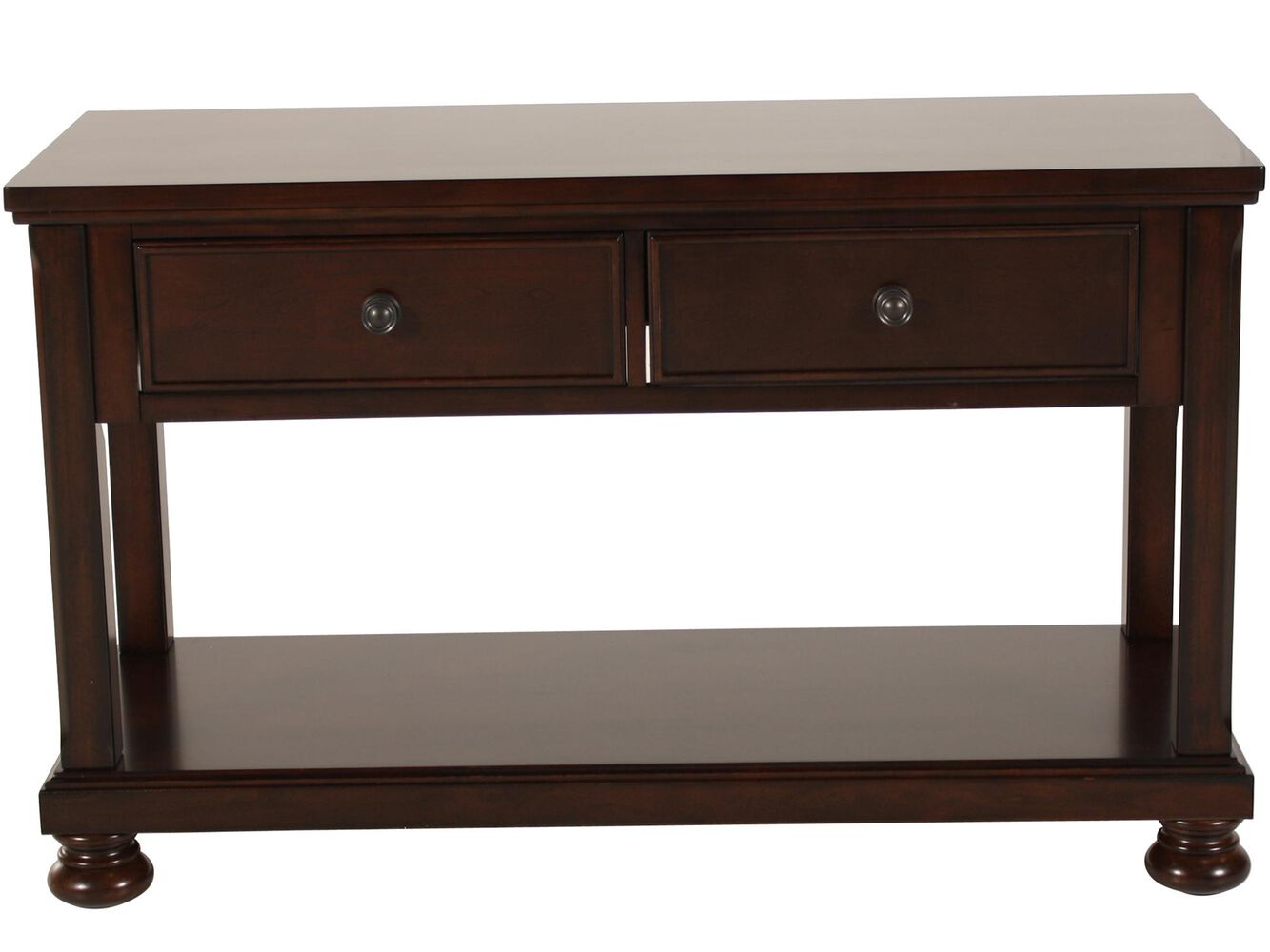 Ashley porter sofa table mathis brothers furniture