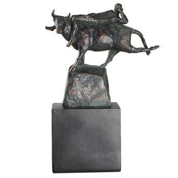 Uttermost Rodeo Times Bronze Figurine