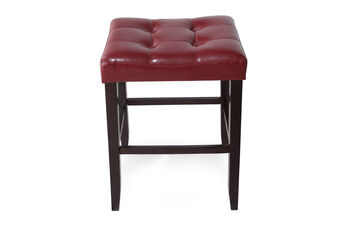 Crown Mark Kent Saddle Bar Stool