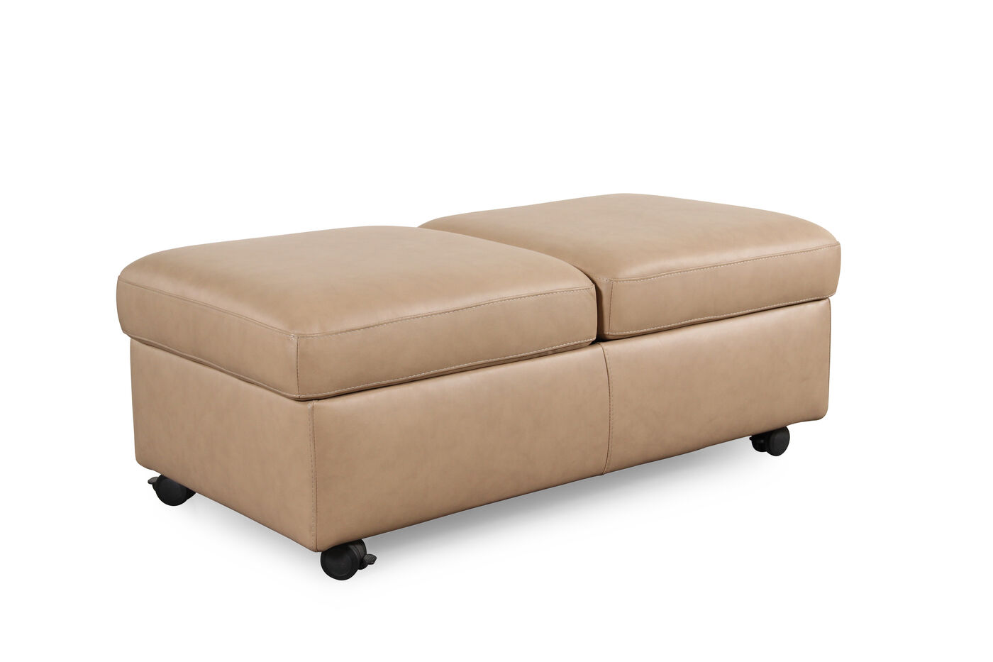 stressless paloma sand double ottoman with table top. Black Bedroom Furniture Sets. Home Design Ideas