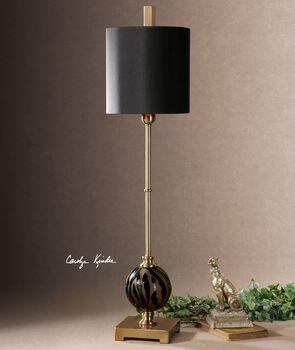 Uttermost Amur Smoke Glass Buffet Lamp