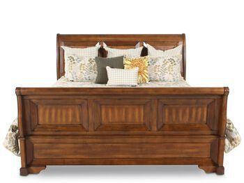 Aspen Centennial Sleigh Storage Bed